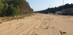 połączenie A2 z A6 - droga zbiorczo rozprowadzająca - brak robót